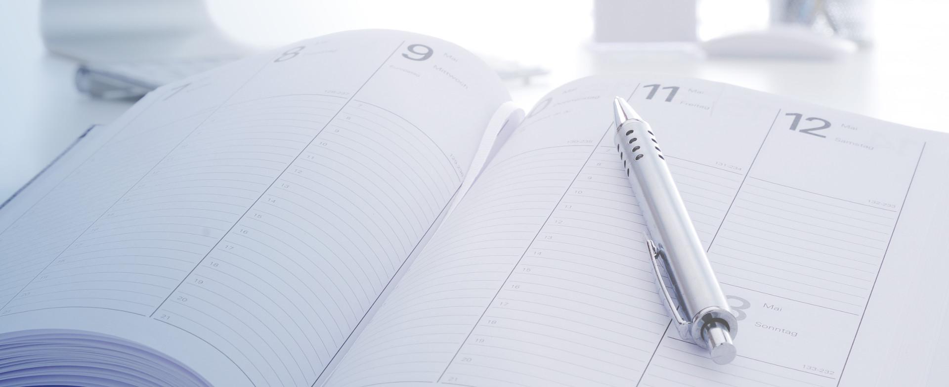 Visualisierung Kalender für Blog-Artikel