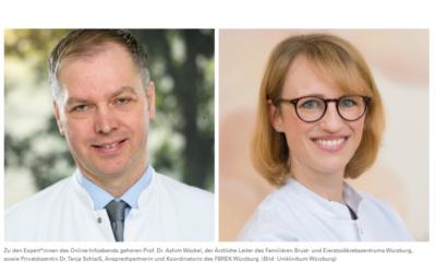 Online-Infoabend: Familiärer Brust- & Eierstockkrebs