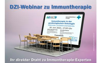 Patientenveranstaltung: Immuntherapie in der gynäkologischen Onkologie