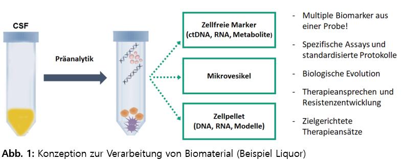 Konzeption zur Verarbeitung von Biomaterial