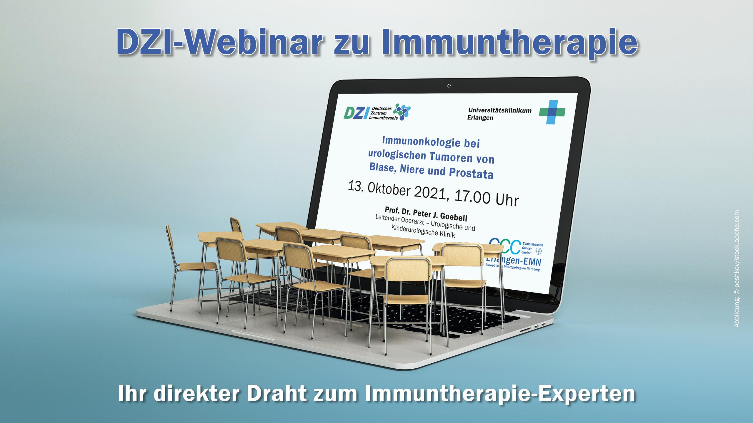"""DZI-Webinar """"Urologische Tumore"""""""