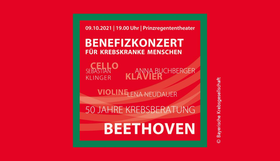 Benefizkonzert zugunsten krebskranker Menschen der Bayerischen Krebsgesellschaft