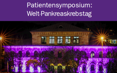 Patientensymposium: Welt-Pankreaskrebstag